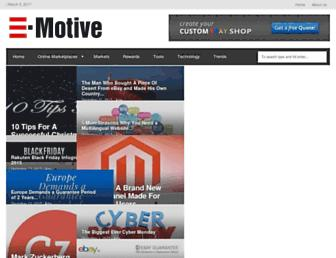 blog.e-motiveonline.com screenshot
