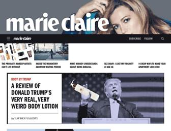 Thumbshot of Marieclaire.com