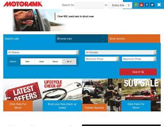 motorama.com.au screenshot
