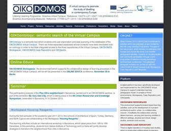 oikodomos.org screenshot