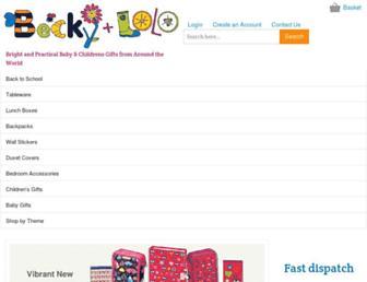 Thumbshot of Beckyandlolo.co.uk
