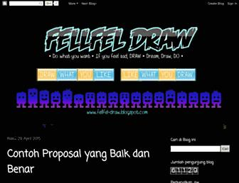 fellfel-draw.blogspot.com screenshot