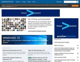 administrator.de screenshot