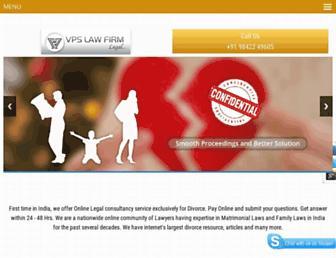 divorcelawyerindia.com screenshot
