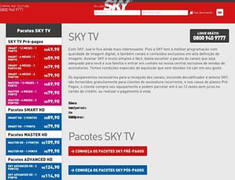 skytvassinatura.com.br screenshot