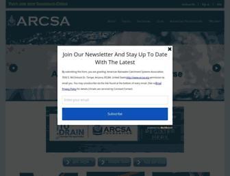 arcsa.org screenshot