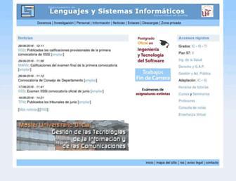 lsi.us.es screenshot