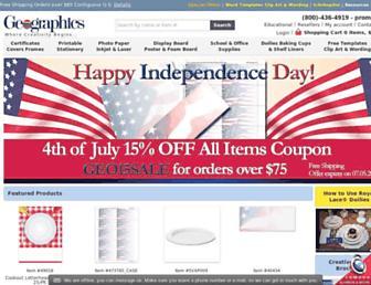 geographics.com screenshot