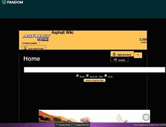 asphalt.fandom.com screenshot