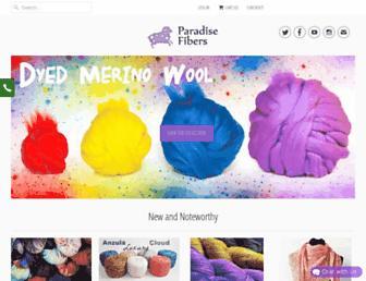 Thumbshot of Paradisefibers.com
