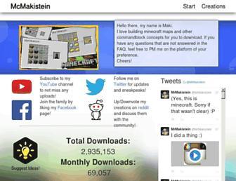 mcmakistein.com screenshot