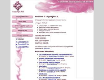 Thumbshot of Copyrightaid.co.uk