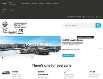 volkswagensantamonica.com screenshot
