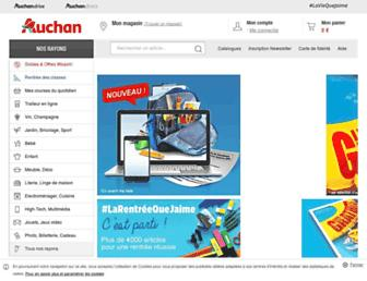 Thumbshot of Auchan.fr
