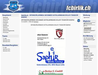 Thumbshot of Fcbirlik.ch