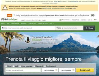 tripadvisor.it screenshot