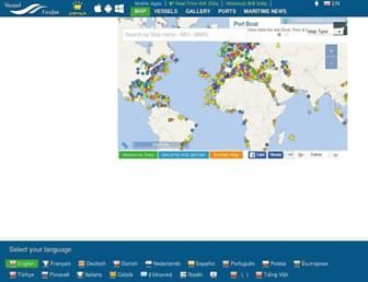 vesselfinder.com screenshot
