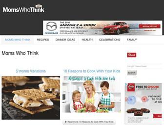 Thumbshot of Momswhothink.com