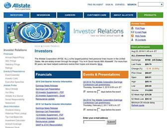 allstateinvestors.com screenshot