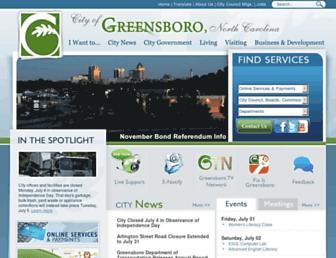 greensboro-nc.gov screenshot