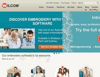 wilcom.com screenshot