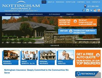 nottinghaminsurance.com screenshot