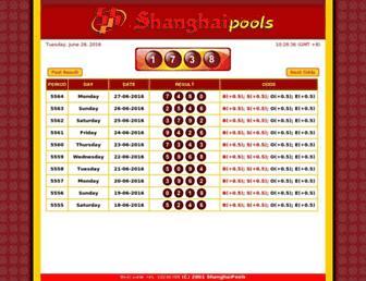 shanghaipools.com screenshot