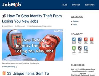 jobmob.co.il screenshot