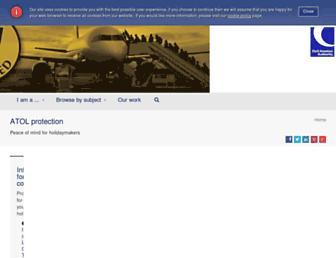 atol.org.uk screenshot
