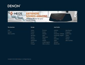Thumbshot of Denon.com