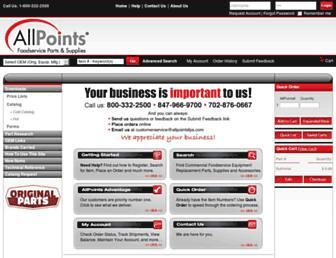 allpointsfps.com screenshot