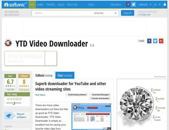 ytd-video-downloader-free.en.softonic.com screenshot