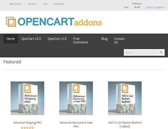 Thumbshot of Opencartaddons.com