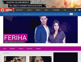 feriha.markiza.sk screenshot