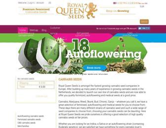 Thumbshot of Royalqueenseeds.com