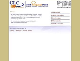 multilanguage.com screenshot