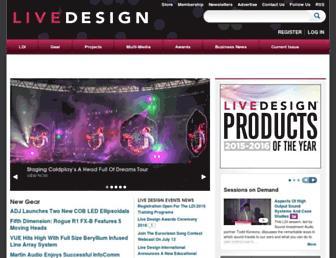 livedesignonline.com screenshot