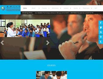 Thumbshot of Apiit.edu.in