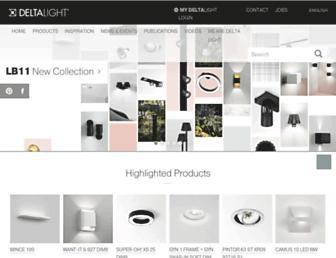 deltalight.com screenshot