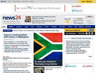Thumbshot of News24.com