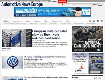 europe.autonews.com screenshot