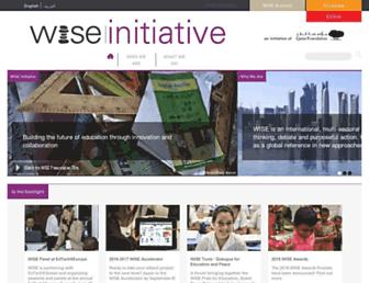 Thumbshot of Wise-qatar.org