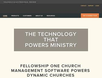 Thumbshot of Fellowshipone.com