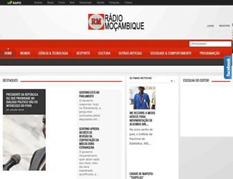 rm.co.mz screenshot