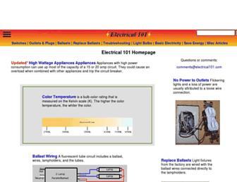 electrical101.com screenshot