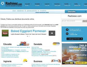 rasfoiesc.com screenshot