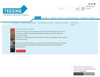 teesing.com screenshot