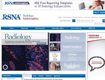 pubs.rsna.org screenshot