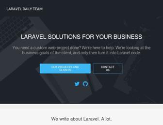 laraveldaily.com screenshot