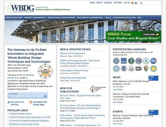 wbdg.org screenshot